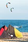 Kite on the sand Stock Photo