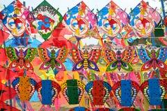 Kite. Seamless wallpaper with kite in Thailand Royalty Free Stock Photos