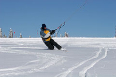 Kite skier Stock Photos