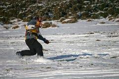 Kite skier Stock Image