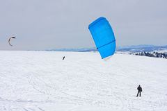 Kite Skier Royalty Free Stock Photos