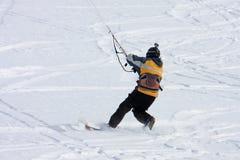 Kite Skier Stock Photo