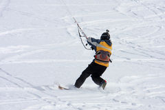 Kite skier Stock Photo