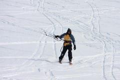 Kite skier Stock Photography
