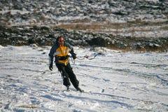 Kite skiier Royalty Free Stock Photos