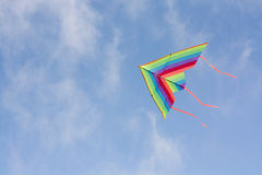 Kite in sky Stock Photos