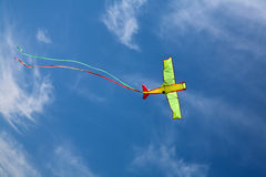 Kite in sky Stock Images