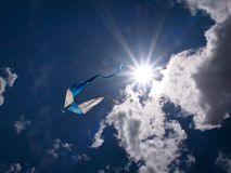 Kite in the sky Stock Photography