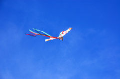 Kite in the sky with nobody Royalty Free Stock Photography