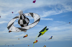 Kite in the sky with other kites Royalty Free Stock Photo