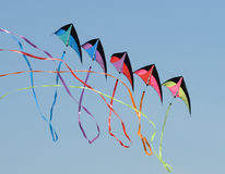 Kite with streamers Stock Photo