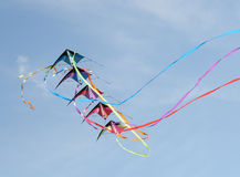 Kite with streamers Stock Photography