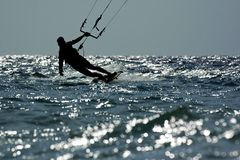 Kite surf Stock Image