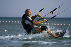 Kite surf-coach. Royalty Free Stock Photos