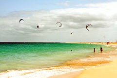 Kite surf Stock Photography