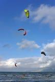 Kite Surf in Majorca royalty free stock image