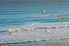 Kite surf, South Africa Royalty Free Stock Image