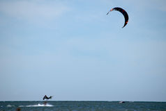 Kite-surfer Royalty Free Stock Photography