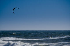 Kite surfer Royalty Free Stock Photos
