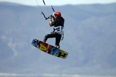 Kite surfer Royalty Free Stock Photos