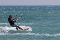 Free Kite Surfer Royalty Free Stock Photography - 33740777