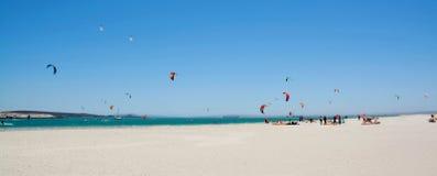 Kite surfer Stock Images