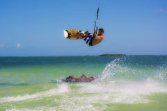 Kite surfer Royalty Free Stock Photography