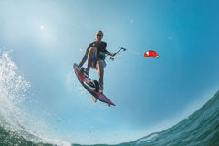 Kite surfer Royalty Free Stock Images
