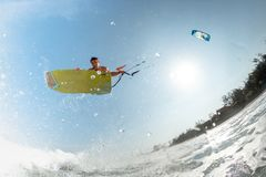 Kite surfer Stock Photography