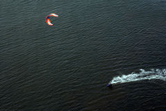 Kite surfer stock photography