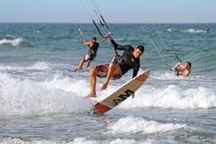 Kite surfer,  Valencia, Spain Royalty Free Stock Photos