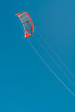 Kite surfer wing Royalty Free Stock Images
