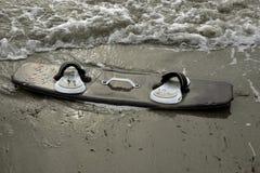 Kite surfing board stock photo