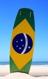Kite surfing in brazil Stock Images