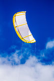 Surfing kite Royalty Free Stock Images