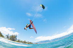 Kite Surfing stock photo