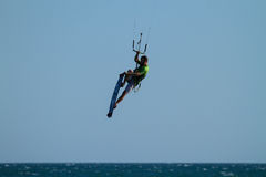 Kite Surfing Royalty Free Stock Photography