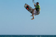 Kite Surfing Stock Photography