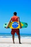 Kite Surfing In Brazil Royalty Free Stock Photo