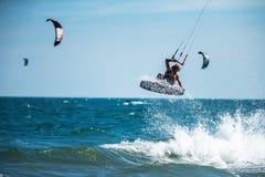 Kite surfing. Stock Photo