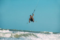 Kite surfing. Stock Photo