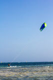 Kite Surfing in Watamu Stock Photo