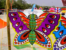 Kite in Thailand stock photo