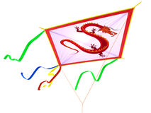 Kite with a traditional Royalty Free Stock Photo