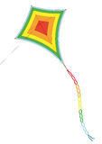 Kite (vector) Stock Photos