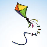 Kite. Vector drawing Royalty Free Stock Photo