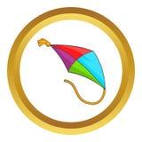 Kite vector icon Stock Photos