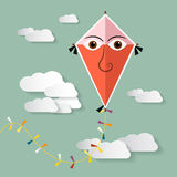 Kite Vector Illustration Royalty Free Stock Images