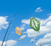 Kite windsocks stock photo