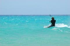 Kiteboard Lizenzfreies Stockfoto